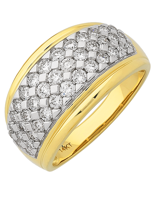 Diamond Ring - 14ct Yellow Gold Diamond Ring - 767635  - Salera's Melbourne, Victoria and Brisbane, Queensland Australia