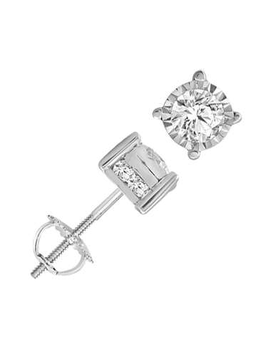 Diamond Studs - 1.00ct White Gold Diamond Studs - 768337