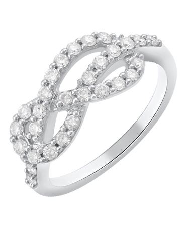 Diamond Ring - White Gold Diamond Ring - 768491