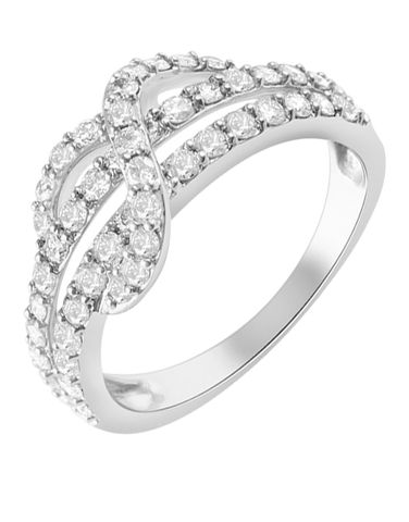 Diamond Ring - White Gold Diamond Ring - 768492