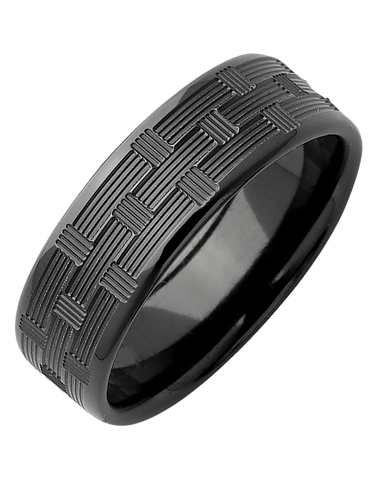 Ziro - Men's Zirconium Ring - 768969