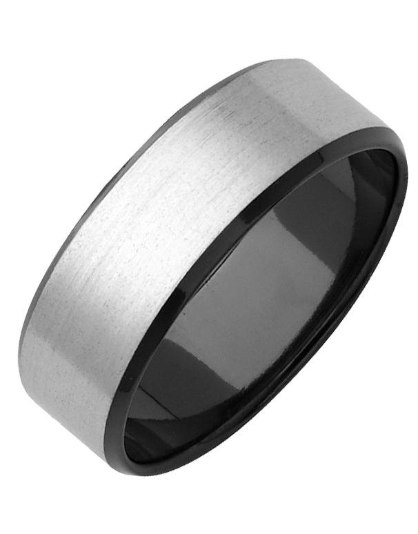 Ziro - Men's Zirconium Ring - 768970
