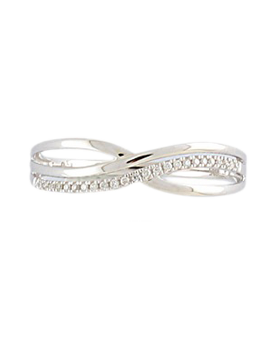 Diamond Ring - 9ct White Gold Diamond Ring - 769112
