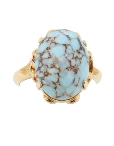 Heritage Collection - 18ct Yellow Gold Turquoise Ring - 770948
