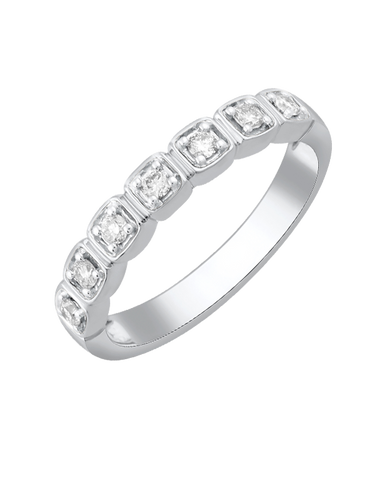 Diamond Ring - White Gold Diamond Ring - 780062