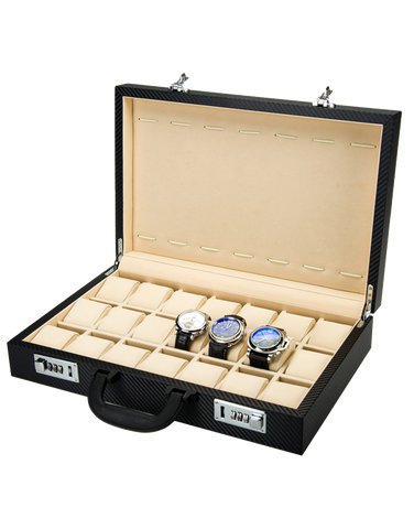 21x Watch Box Briefcase (Carbon) - 759469