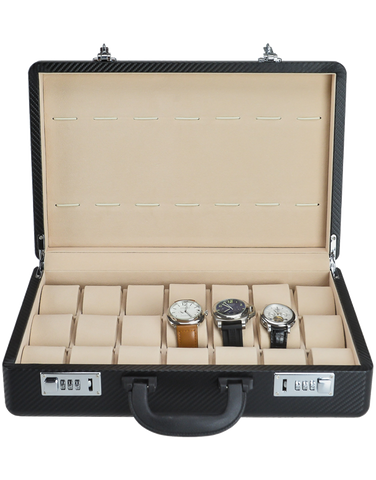 21x Watch Box Briefcase (Carbon) - 766001