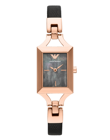 Emporio Armani - Chiara Classic Rose Gold Watch - AR7373