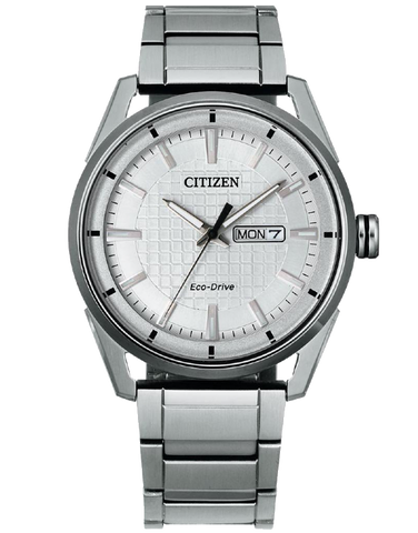 Citizen - Eco-Drive Silver Watch - AW0080-57A - 781539