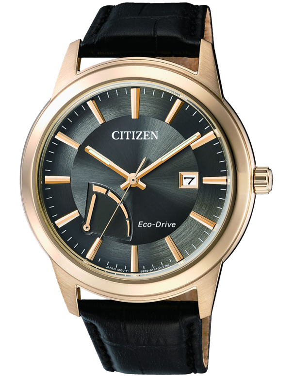 Citizen - Men's Gold Stainless Steel Eco-Drive Date - AW7013-05H - Salera's Melbourne, Victoria and Brisbane, Queensland Australia - 1