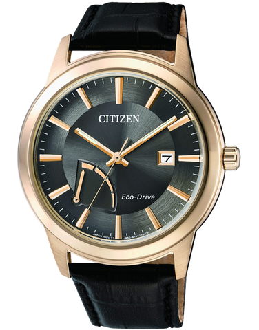 Citizen - Men's Gold Stainless Steel Eco-Drive Date Watch - AW7013-05H - 762700