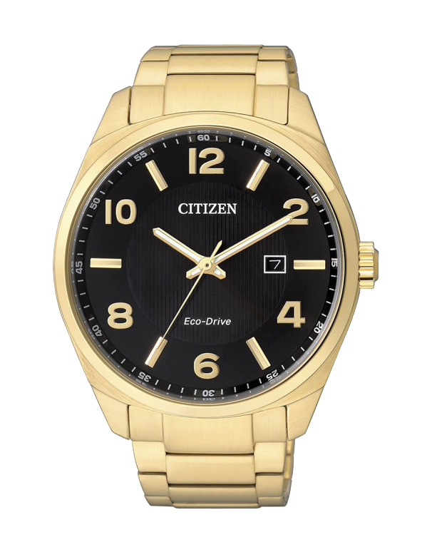 Citizen - Men's Gold Stainless Steel Eco-Drive Dress Watch - BM7322-57E - Salera's Melbourne, Victoria and Brisbane, Queensland Australia - 1