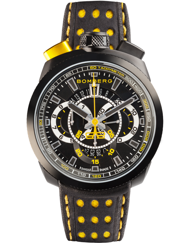 Bomberg Bolt-68 - Quartz Chronograph - BS45CHPBA.015.3 - Salera's Melbourne, Victoria and Brisbane, Queensland Australia