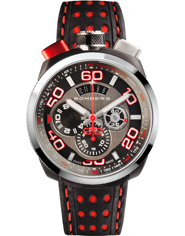 Bomberg Bolt-68 - Quartz Chronograph - BS45CHSP.011.3 - Salera's Melbourne, Victoria and Brisbane, Queensland Australia