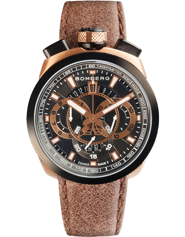 Bomberg Bolt-68 - Quartz Chronograph - BS45CHTT.017.3 - Salera's Melbourne, Victoria and Brisbane, Queensland Australia - 1