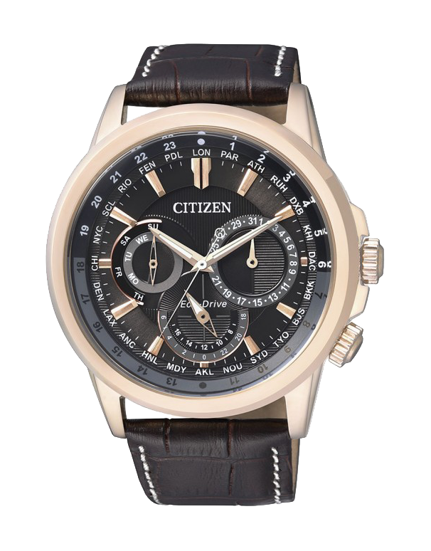 3369c29309a Citizen - Men s Gold Stainless Steel Eco-Drive Watch - BU2023-12E ...