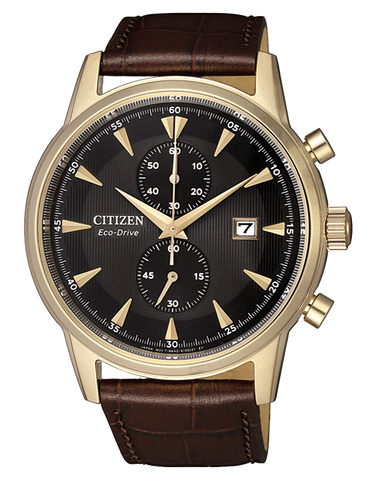 Citizen - Men's Stainless Steel Eco-Drive Date Chronograph Watch - CA7008-11E - 768442