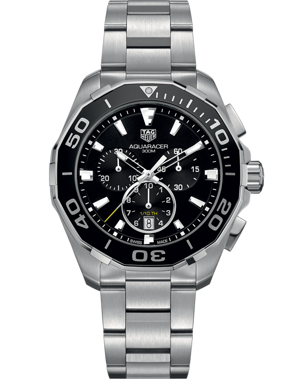 TAG Heuer Aquaracer Quartz Chronograph - CAY111A.BA0927 - Salera's Melbourne, Victoria and Brisbane, Queensland Australia