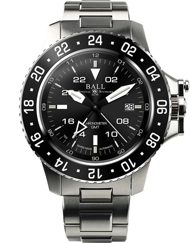 Ball Engineer Hydrocarbon GMT Watch - DG2016A-SCJ-BK