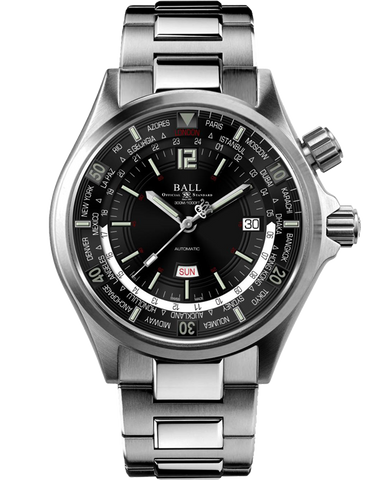 Ball Engineer Master II Diver Worldtime Watch - DG2022A-S3AJ-BK