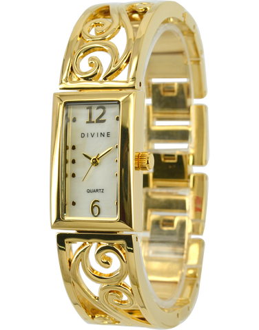 Divine - Ladies Gold Tone Watch - DW1070-1