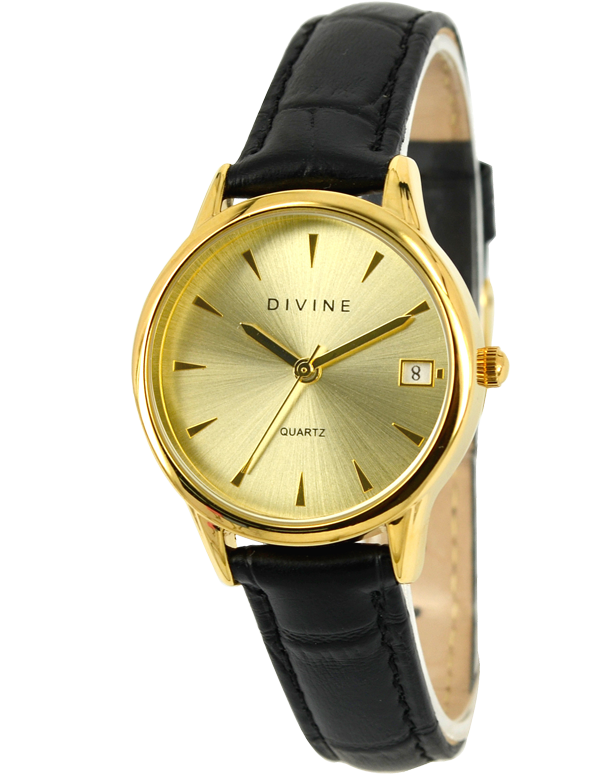 Divine - Ladies Leather Strap Watch - DW1103-1