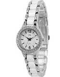 Divine - Ladies Two Tone Crystal Set Watch - DW2050-1 - Salera's Melbourne, Victoria and Brisbane, Queensland Australia - 2