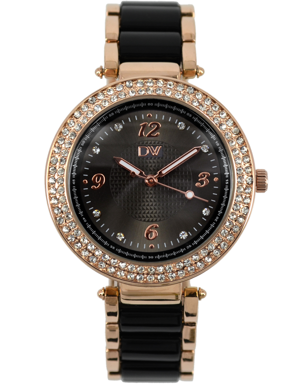 Divine - Ladies Two Tone Crystal Set Watch - DW2067-6 - Salera's Melbourne, Victoria and Brisbane, Queensland Australia