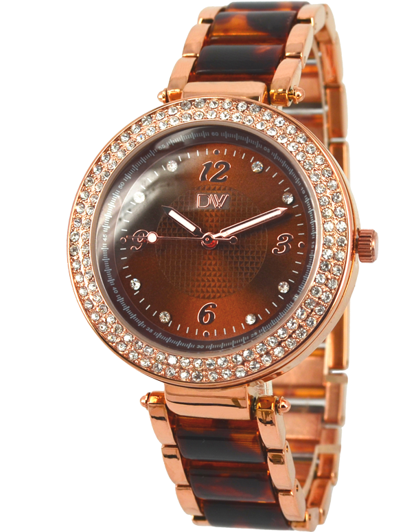 Divine - Ladies Two Tone Crystal Set Watch - DW2067-8 - Salera's Melbourne, Victoria and Brisbane, Queensland Australia
