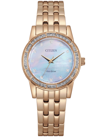 Citizen - Eco-Drive Crystal Watch - EM0773-54D - 781543