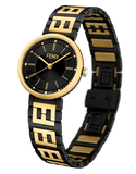 Forever Fendi, Watch with FF logo bracelet - F102211201