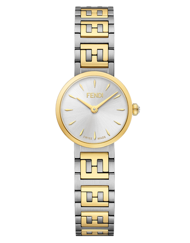 Forever Fendi, Watch with FF logo bracelet - F103200201