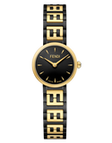 Forever Fendi, Watch with FF logo bracelet - F103210501