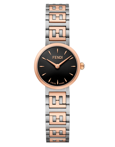 Forever Fendi, Watch with FF logo bracelet - F103300401