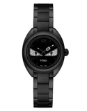 Momento Fendi Bugs, Watch with Fendi signature formed by the minute and seconds hands when they meet - F215621000D3