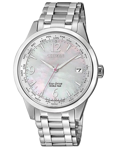 Citizen - Ladies World Time Classic Watch - FC8001-87D - 771504