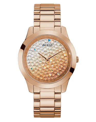 Guess -  Ladies Crush Rose Gold Watch - GW0020L3 - 781395