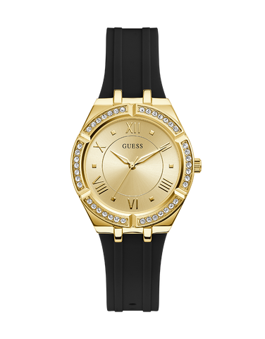 Guess - Ladies Cosmo Black and Gold Watch - GW0034L1 - 781400