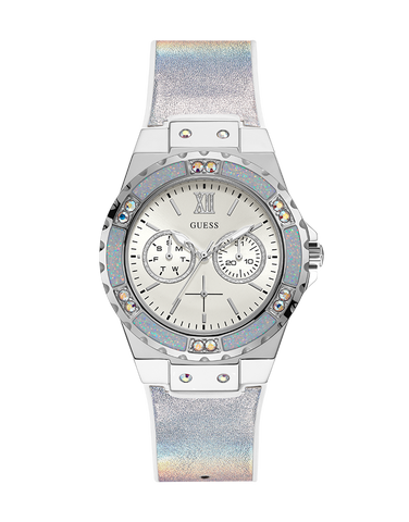 Guess - Ladies Limelight Silver Iridescent Watch - GW0042L1 - 781404