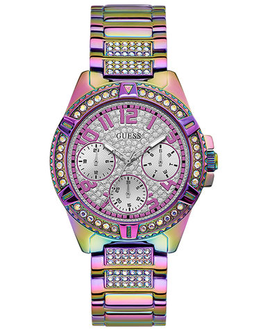 Guess - PRE-ORDER - Ladies Frontier Iridescent Watch - GW0044L1 - 781406