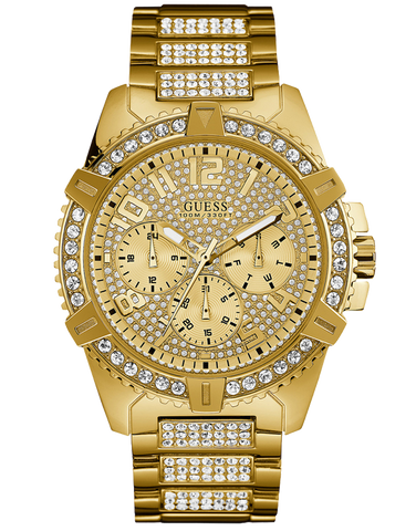 Guess - Men's Frontier Gold Watch - W0799G2 - 769373