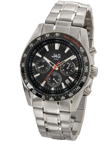 JAG - Hector Stainless Steel Chronograph Watch - J1472A
