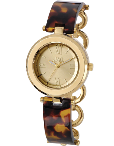 JAG - Ava Gold Tone Bangle Watch - J1753A