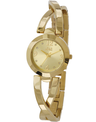 JAG - Harper Gold Tone Watch - J1783A