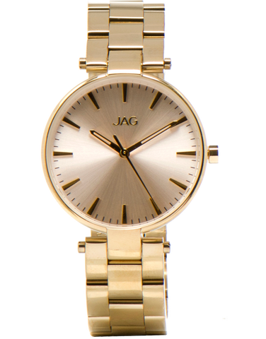 JAG - Adeline Gold Tone Watch - J1922A