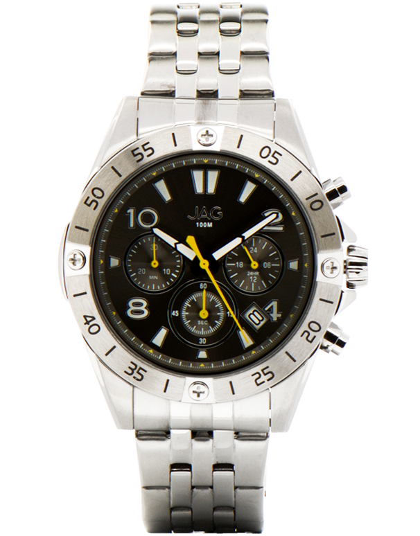 JAG - Lincoln Stainless Steel Watch - J1933A