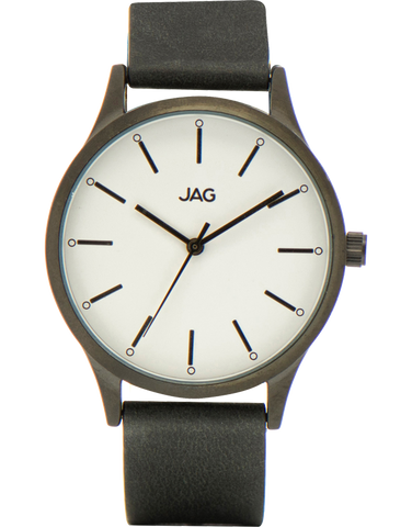 JAG - Melissa Stainless Steel Leather Watch - J1963