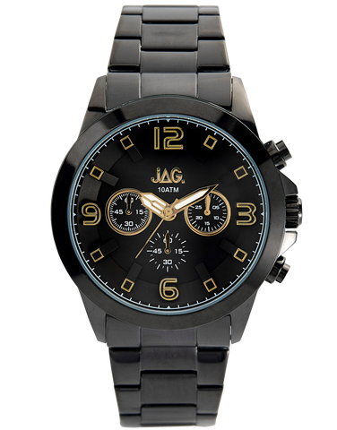JAG - Michael Black Stainless Steel Watch - J2061A - 765909