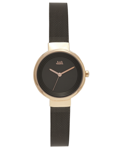 JAG - Chloe Black & Gold Tone Watch - J2086A