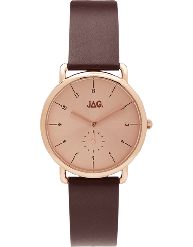 JAG - Ivy Rose Gold Plated Watch - J2106